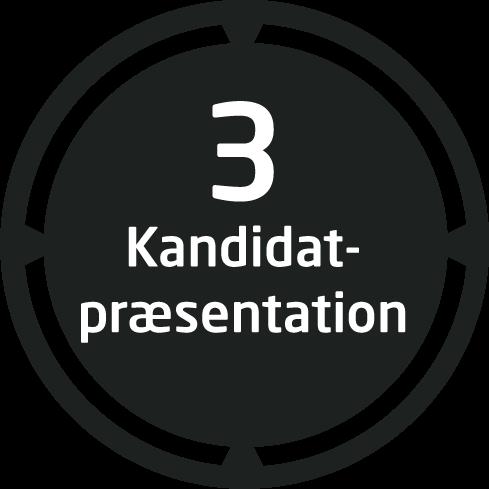 step 3 kandidat præsentation